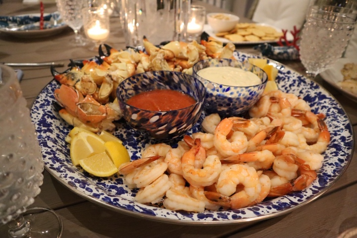 New Year's Day Seafood Spread