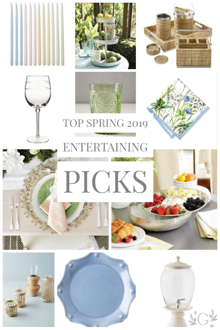 Spring (2019) Entertaining Pieces I'm Loving